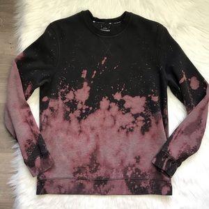 Oversized Bleach Tie Dye Sweatshirt size Medium